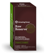 Amazing Grass Raw Reserve Green SuperFood Single Serve Packets