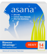 Asana Heavy Flow Sanitary Napkins with Wings