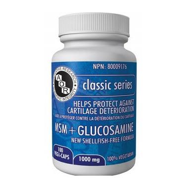 AOR MSM + Glucosamine