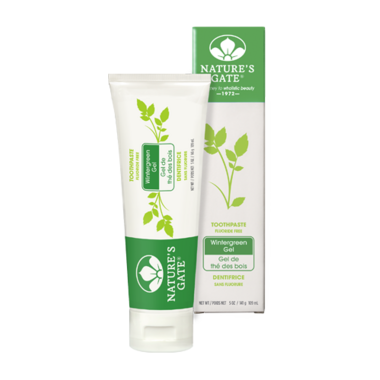 Nature\'s Gate Toothpaste - Wintergreen Gel