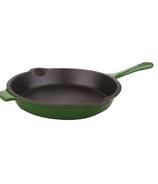 BergHOFF Neo 10 Inch Cast Iron Fry Pan Green
