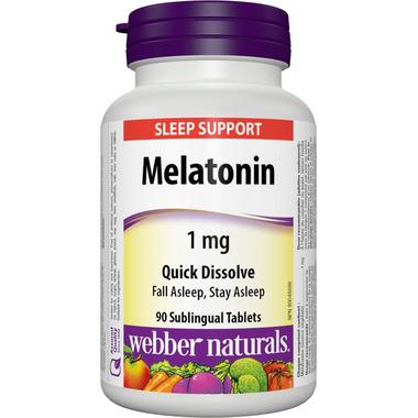 Webber Naturals Quick Dissolve Melatonin