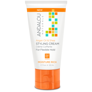 ANDALOU naturals Argan Oil & Shea Moisture Rich Styling Cream Travel Size
