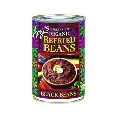 Amy\'s Organic Refried Black Beans