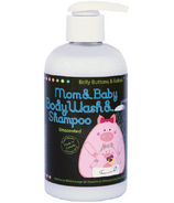 Belly Buttons & Babies Unscented Mom & Baby Body Wash and Shampoo