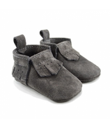 Mally Designs Charcoal Lux Suede Mally Mocs