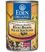 Eden Organic Canned Caribbean Rice & Black Beans