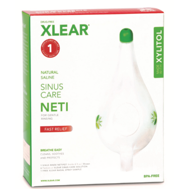 Xlear Sinus Care Netipot Kit