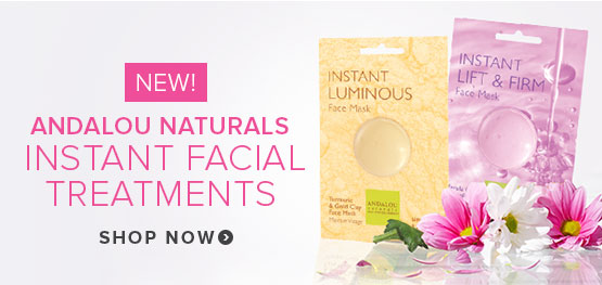 New! Anadalou Naturals Instant Facial Treatments