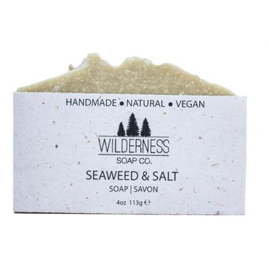 Wilderness Soap Co. Seaweed & Salt Soap