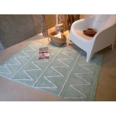 Lorena Canals Washable Rug Hippy Mint