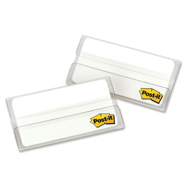 Post-it Durable Filing Tabs White