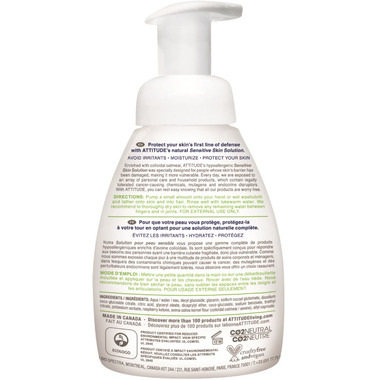 ATTITUDE Baby 2-in-1 Natural Hair and Body Foaming Wash