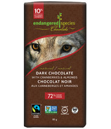 Endangered Species Natural Dark Chocolate Bar with Cranberries & Almonds