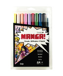 Tombow Manga Shojo Dual Brush Pen Set
