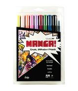 Tombow Manga Shojo Dual Brush Pen Set
