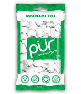 PUR Sugar-Free Spearmint Gum Bag