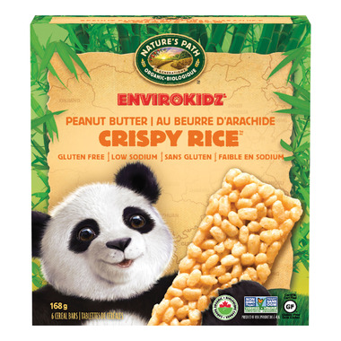 Nature\'s Path EnviroKidz Organic Crispy Rice Peanut Butter Bars