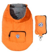 Canada Pooch Pacific Poncho in Orange Sizes 10-20