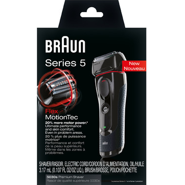 Braun Series 5 5030s Shaver Black