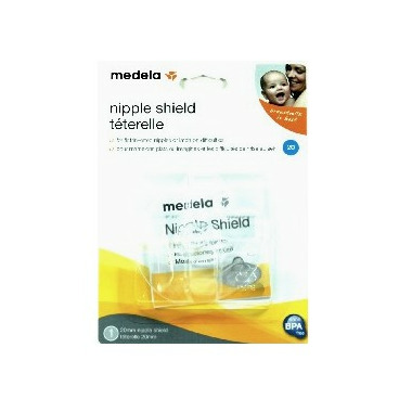 how to use a medela nipple shield