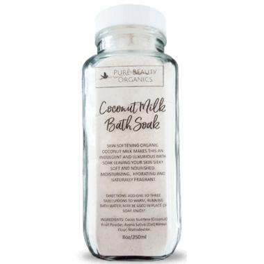 Pure Beauty Organics Coconut Milk Bath Soak