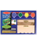 Melissa & Doug Decorate Your Own Treasure Chest