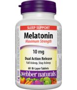 Webber Naturals Melatonin Dual Action Release 10mg