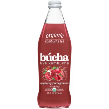 Bucha Raspberry Pomegranate
