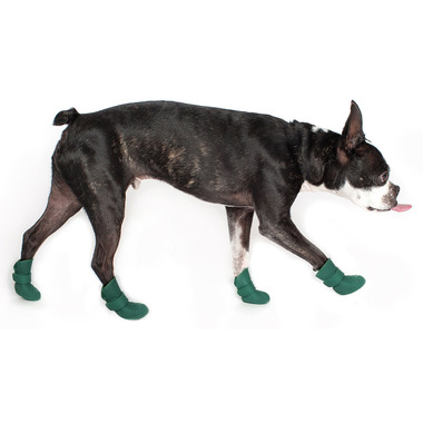 Wellies Boots for Dogs Extra Large in Green