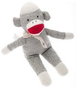 Beba Bean Sock Monkey Rattle