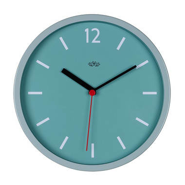 Wild Wood Wall Clock French Blue