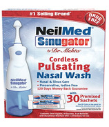 NeilMed Sinugator by Dr. Mehta Cordless Pulsating Nasal Wash