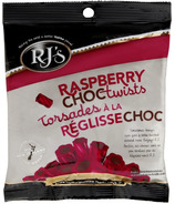RJ's Licorice Raspberry Choc Twists
