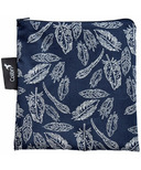 Colibri Reusable Snack Bag Large in Feather