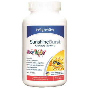 Progressive Sunshine Burst Vitamin D for Kids
