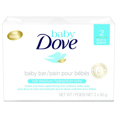 Baby Dove Rich Moisture Cleansing Bar Soap