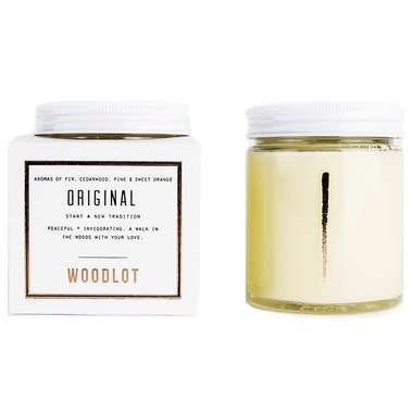 Woodlot Original Coconut Wax Candle
