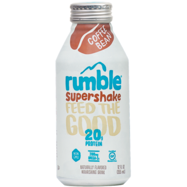 Rumble Coffee Bean Supershake Drink