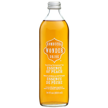Kombucha Wonder Drink Essence of Peach