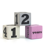 Child to Cherish Stacking Age Blocks Pink