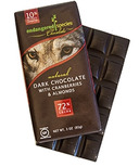 Endangered Species Dark Chocolate Bar with Cranberries & Almonds