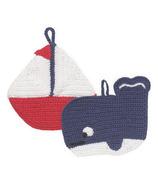 Now Designs Tawashi Ahoy, Matey Dishcloth