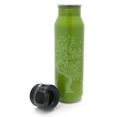 Gaiam Tree Of Life Stainless Steel Water Bottle