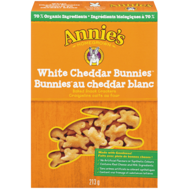 Annie\'s Homegrown Organic White Cheddar Bunnies