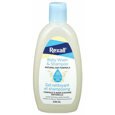 Rexall Baby Wash & Shampoo Natural Oat