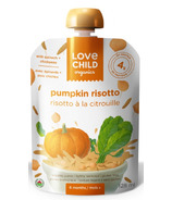 Love Child Organics Veggie Protein Pouch Pumpkin Risotto