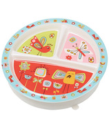 Sugarbooger Divided Suction Plate Birds & Butterflies