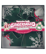 Gingerbread Family Cookie Cutters