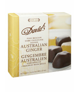 David's Dark Chocolate Dipped Australian Ginger